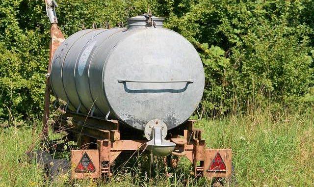 réservoirs d'eau pour stockage