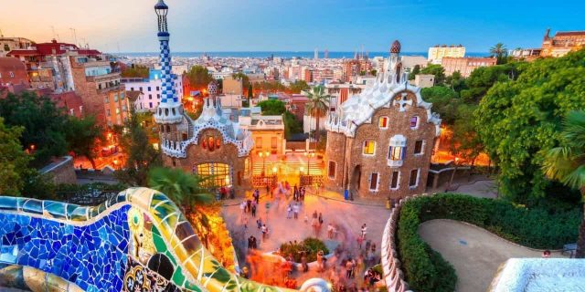 Barcelone voyage